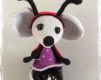 Mylee the little mouse ladybug