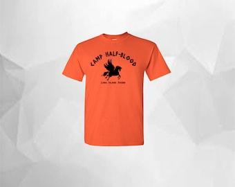Percy Jackson Camp Half-Blood Shirt Camp Half Blood T Shirt Camp Half Blood T Shirt Greek Gods Demi God Greek Mythology Long Island Sound