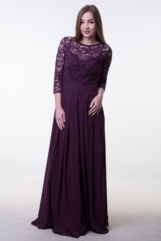 Dark purple bridesmaid dress lace purple bridesmaid dress with details lace dark purple dress ombrellifo Image collections