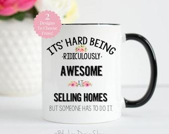 Real Estate Agent Mug, Realtor Mug, Realtor Gift, Closing Gift for Realtor, Funny Realtor Gift, Real Estate Agent Gift, Gift for Realtor