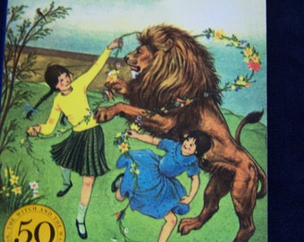The Lion, the Witch and the Wardrobe by C. S. Lewis 50th Anniversary Edition