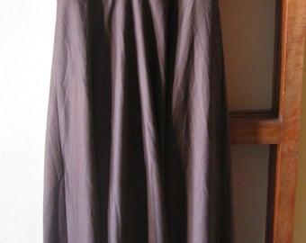 vintage brown maxi dress