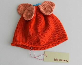 Cotton bonnet Orange Daisy