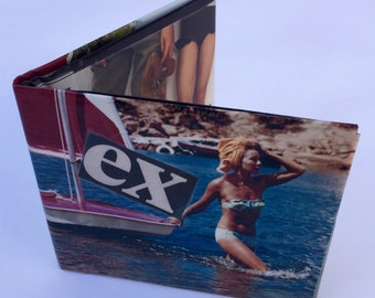 EX       Number 100 Unique  laminated paper wallet made in Melbourne