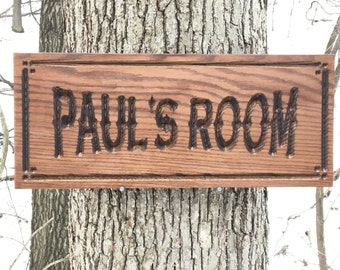 Custom Wood Carved Sign, Family Name Sign, Custom Sign with Names, Personalized Wooden Sign, Housewarming Gift, Engraved Wood Sign
