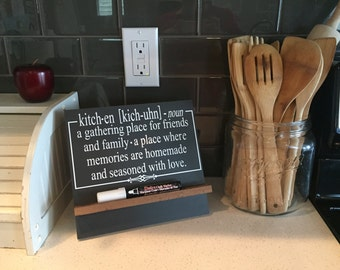 "The ""Definition"" of Kitchen - Decal ONLY - Kitchen Decor"