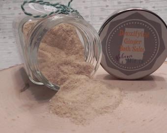 Detoxifying Ginger Bath Salts