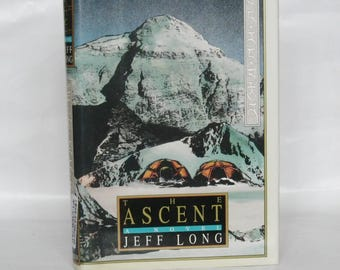 The Ascent. Jeff Long. 1st edition.