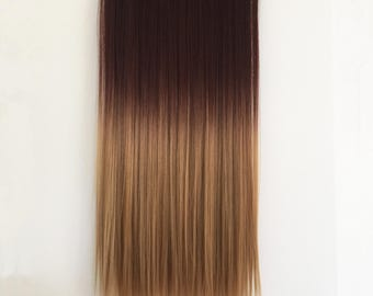 5 Clips Ombre Hair Extension