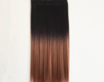 One Piece 1B/15# Ombre Hair Extension