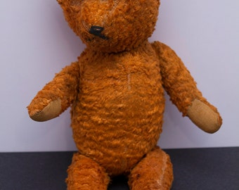 Uncle Bill, Vintage 1930's Well Loved Teddy Bear