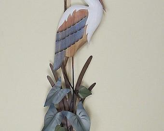 Heron Wall Sculpture - CW103