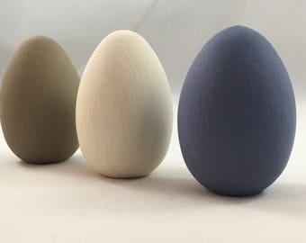Easter Egg Ornaments, Wooden Easter Eggs, Easter Decorations, Wooden Eggs, Handpainted Easter Eggs, Painted Wooden Eggs