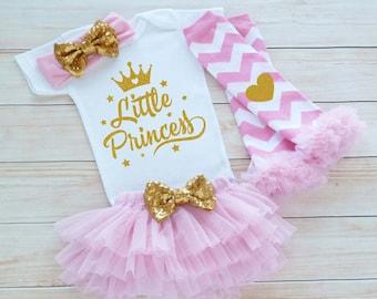 Baby Girl Shirt, Little Princess Bodysuit, Coming Home Baby Girl Shirt, Little Princess Outfit, Baby Coming Home Outfit, Baby Shower Gift