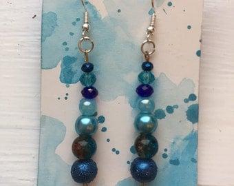 SALE - Ocean Treasure Earrings