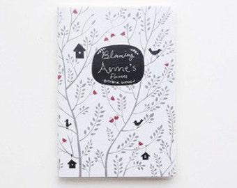 Trees-  notebook, Minimalist blank Notebook, Journal, Planner, Journal Insert, Planner Insert