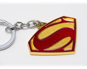 Superman Logo key Chain