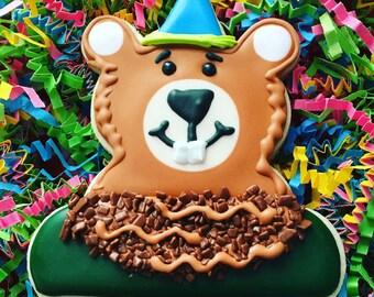 Birthday Animal Cookie Cutter