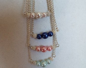 Pearl Necklaces  18""