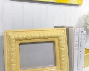 Yellow Ceramic Frame