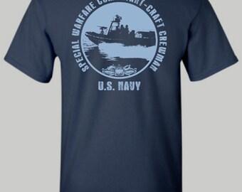 U.S. Navy Special Warefare Combatant - Craft Crewman shirt, US Navy, Navy Crewman, tshirt, hoodie, long sleeve shirt