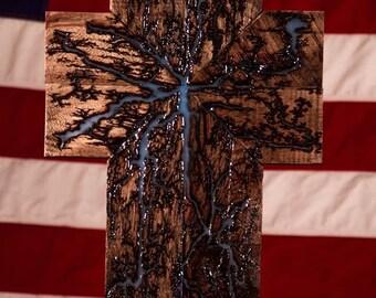 Rustic Wall Cross // Wooden Cross // Unique Cross // Rustic Home Decor // Rustic Gifts // Handmade Cross // Christian Gifts // Wall Decor