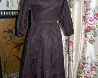 Laura Ashley Black vintage dress 8