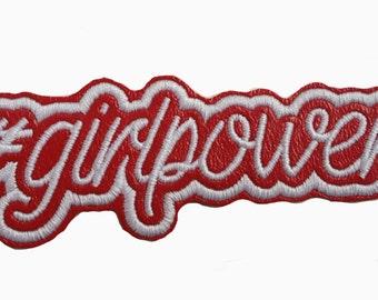 Girlpower Red Patch