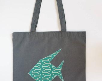 SAKANA TOTEBAG / 100% cotton bag / Tote bag