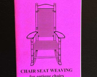 Carolina Close Weave, Chair Weaving Instructions