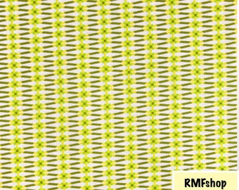 True Colors - Ribbon Lime Fabric by Jenean Morrison for Free Spirit Fabrics - Sold by Half Yard