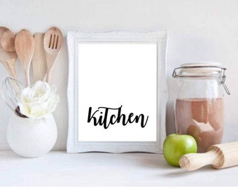 Kitchen Printable