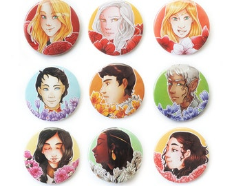 Throne of Glass 【BUTTON 36mm】
