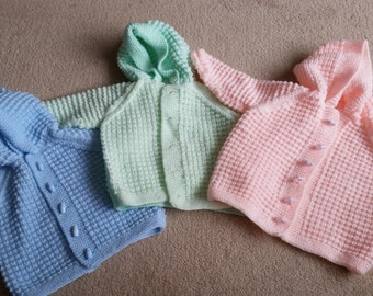 Hand Knitted Baby wear