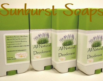 All Natural Deodorant, natural skin care, deodorant, all natural, shea butter, essential oils
