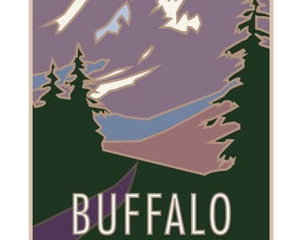 Buffalo Mountain Colorado Poster