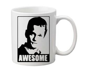 Barney Stinson mug,HIMYM,HIMYM cup,HIMYM gift,funny mug,Barney Stinson,tv show mug,awesome, legendary,coffee mug,gift for him,fathers day