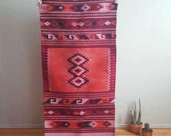 Pink Zapotec Rug