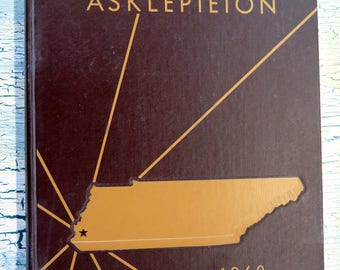 University of Tennessee Medical Units Memphis 1960 Asklepieion Yearbook Annual