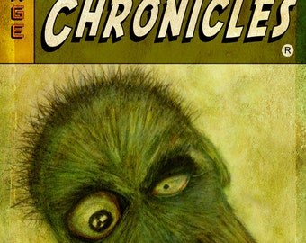 Crazy Chronicles Magazine cover