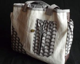 sail-cloth bag / satchel bag