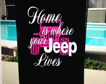 Jeep Yard Flags