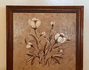 Vintage Ceramic Trivet
