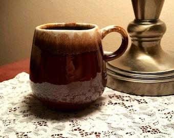 Vintage Drip Glaze Coffee Mug