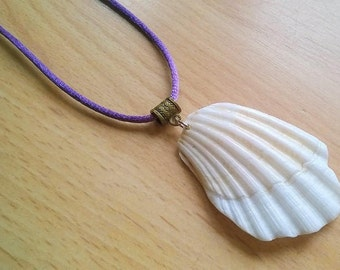 Fractured Shell Necklace
