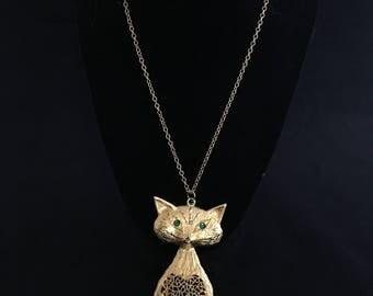 Vintage Fox Necklace