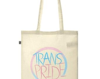 Trans Pride Cotton Tote Bag