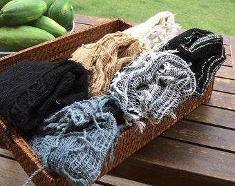 Handmade 100% Organic Scarves