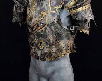 Steampunk leather armor/post apocalyptic leather armor