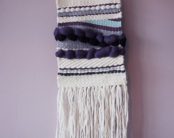 Woven Wool Wall Hanging - Ready to Ship